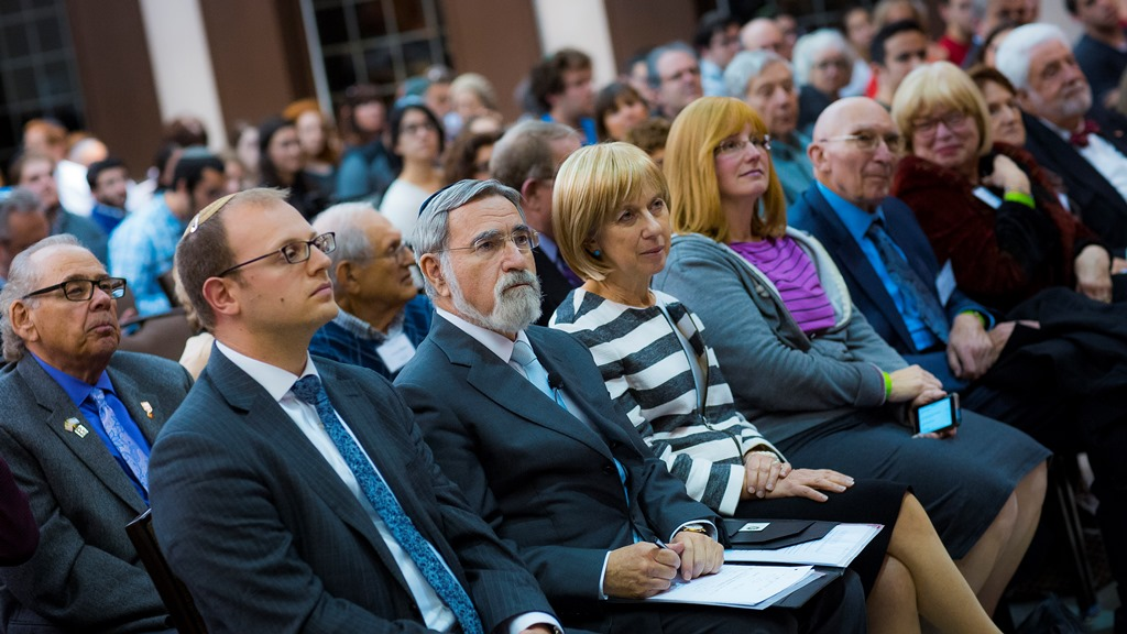 Audience at Sacks lecture