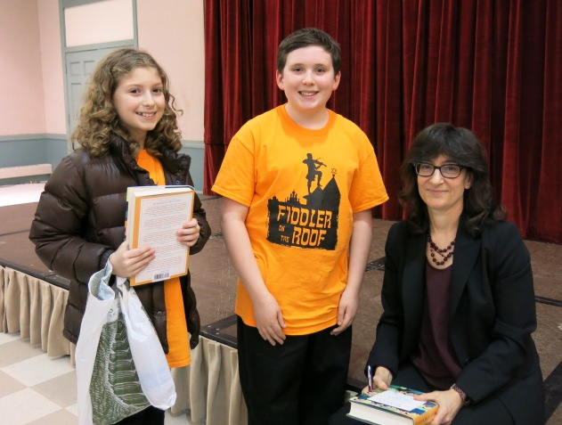 Two Students Book Signing Fiddler